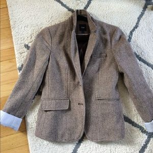 Gap herringbone blazer sz 2 excellent condition